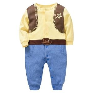 NWT Baby Cowboy Jumper Costume Sz 1-3M